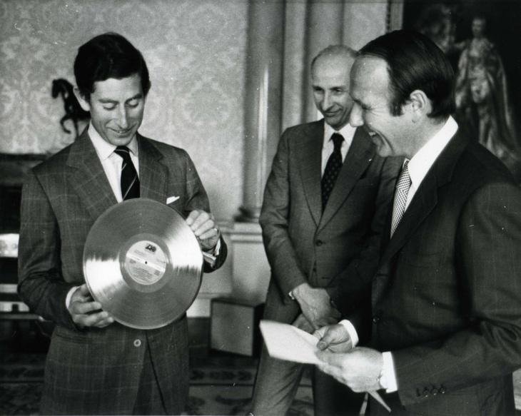 Prince Charles was given the record